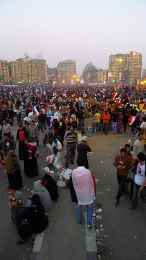 Stock Photo: 1566-719698 Revolution of January 25th  Tahrir square  Cairo  Egypt