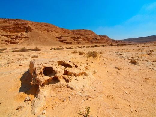 Wadi Degla, Natural reserve Cairo Egypt : Stock Photo