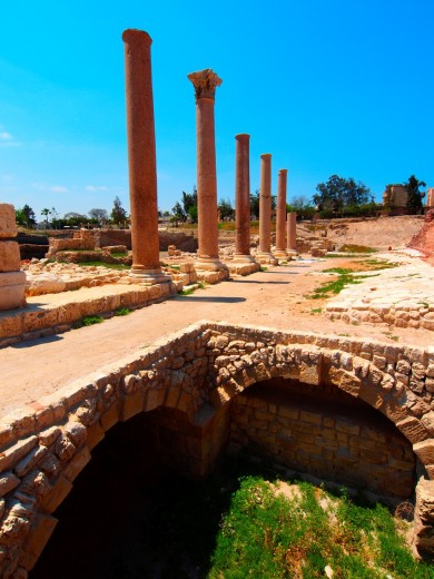 Anphitheater ptolemaic  Alexandria  Egypt : Stock Photo