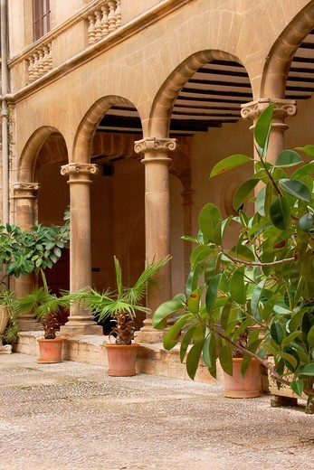 Faculty of Monti-Sion, Es Call, Jewry, Historic Center, Palma Mallorca Balearic Islands Spain : Stock Photo