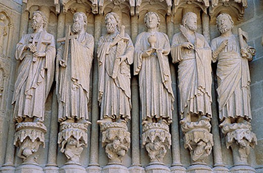 Notre Dame cathedral, Amiens. Picardie, France : Stock Photo