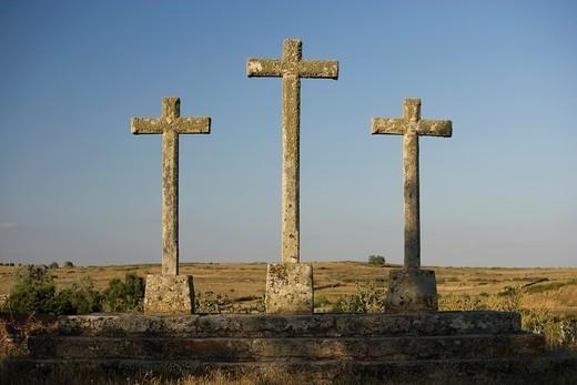 Calvary, Cerralbo, Salamanca province, Castilla y león, spain : Stock Photo