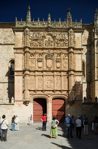 University, Salamanca, Castilla y León, Spain : Stock Photo