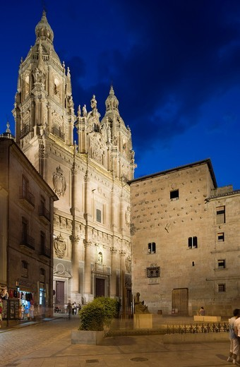 La Clerecía, Salamanca, Castilla y León, Spain : Stock Photo