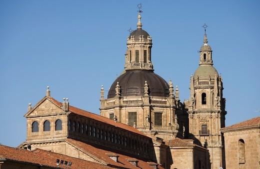 The Clerecía and Pontificial University, Salamanca, Castilla y León, Spain : Stock Photo