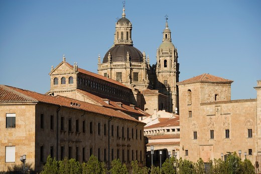 The Clerecía and Pontificial University, Salamanca, Castilla y León, Spain : Stock Photo
