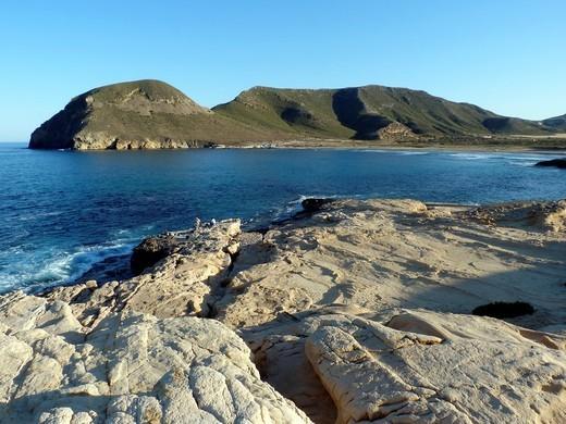 El Playazo, Rodalquilar, Cabo de Gata-Níjar Natural Park, Almería, Spain : Stock Photo