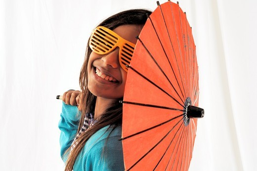 11 year old Indian girl : Stock Photo