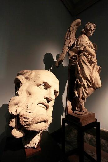 Stock Photo: 1566-723611 Rome  The Vatican Museums  Pinacoteca  Bernini