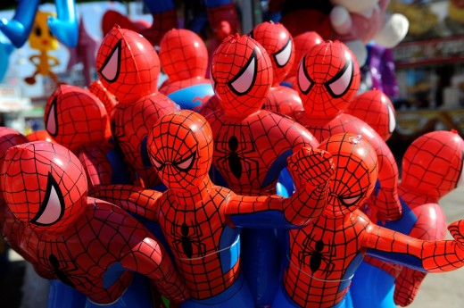 Florida State Fair Tampa Florida Carnival prizes : Stock Photo