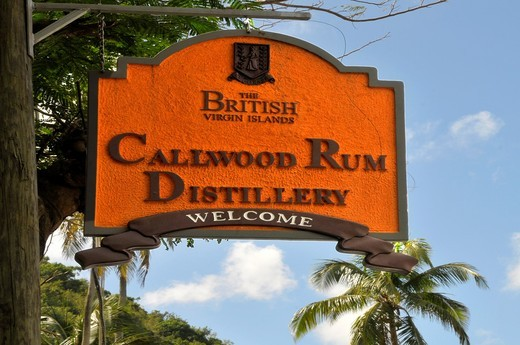 Stock Photo: 1566-723981 Callwood Rum Distillery Tortola BVI Caribbean Cruise