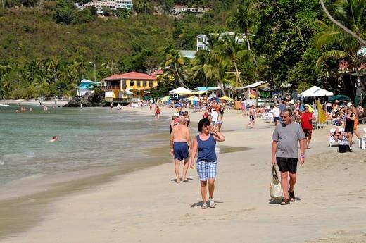 Stock Photo: 1566-723994 Cane Garden Bay Beach Tortola BVI Caribbean Cruise