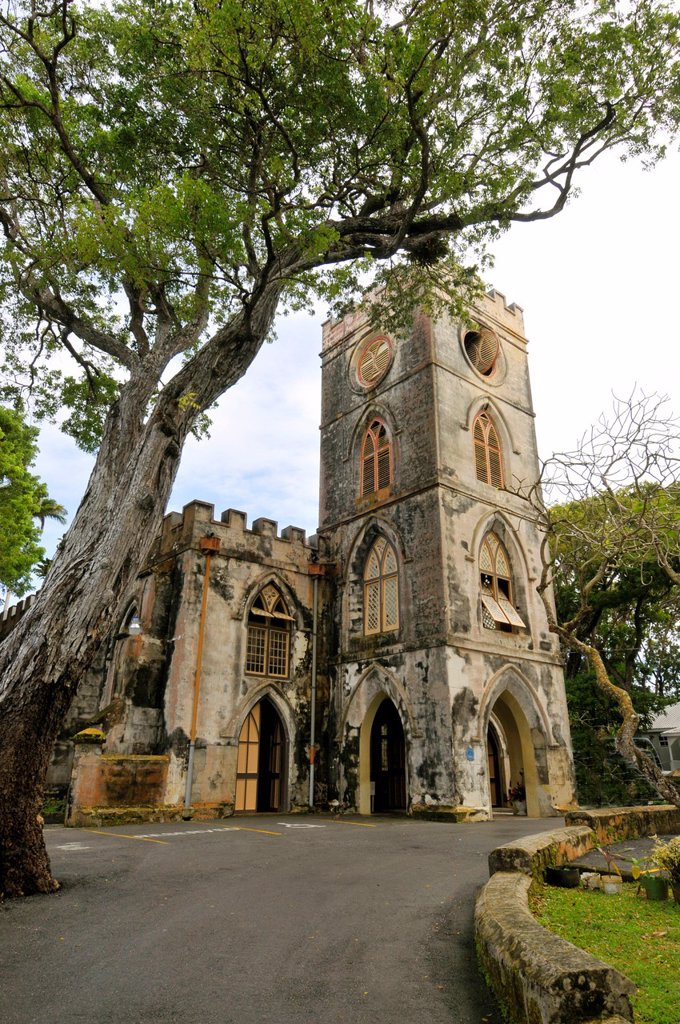 St  John´s Parish Church Bridgetown Barbados Caribbean Cruise NCL : Stock Photo