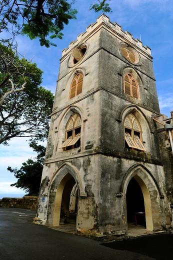 St  John´s Parish Church Bridgetown Barbados Caribbean Cruise NCL : Stock Photo