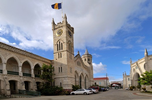 Parliament House Bridgetown Barbados Caribbean Cruise NCL : Stock Photo