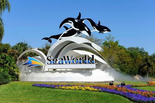 Stock Photo: 1566-724346 Sea World Adventure Theme Park Orlando Florida
