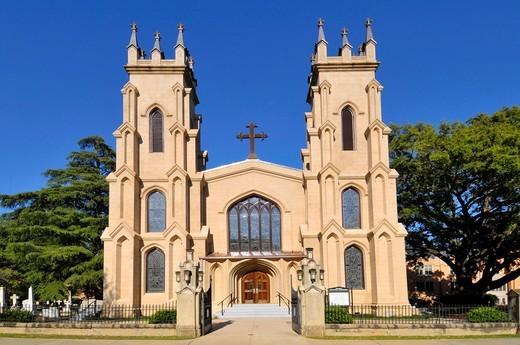 Stock Photo: 1566-724535 Trinity Episcopal Cathedral Church Columbia South Carolina SC