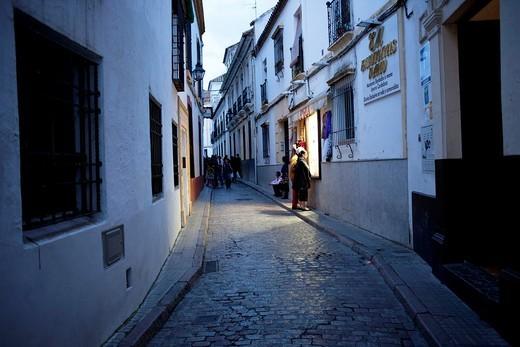 Street scene Cordoba Spain : Stock Photo