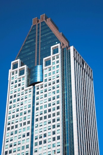 Stock Photo: 1566-727467 1000 La Gauchetière office tower building, Montreal, Quebec, Canada