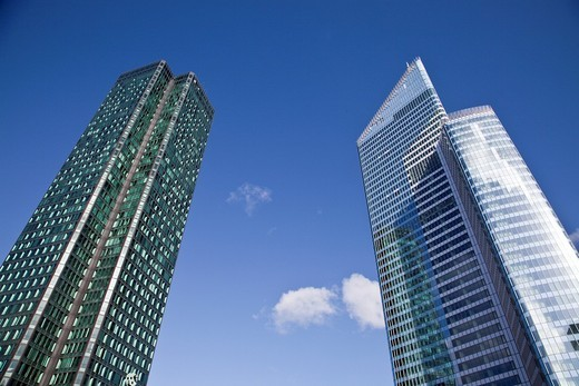 paris defence, Skyscrapers in daylight : Stock Photo