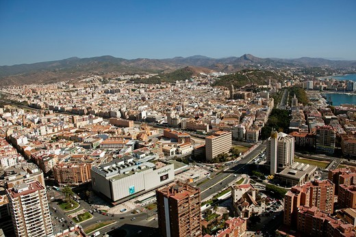 Málaga, Costa del Sol, Andalusia, Spain : Stock Photo