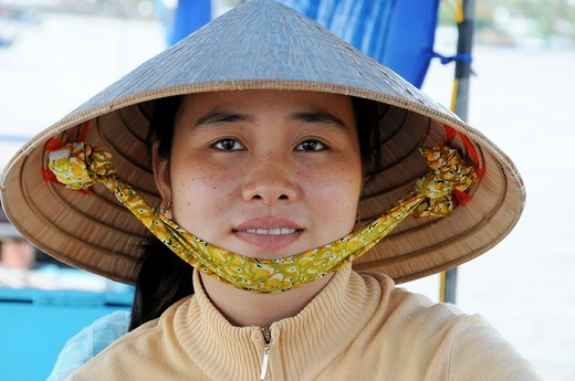 Stock Photo: 1566-730375 Vietnam, Can Tho province, Mekong Delta, Can Tho Floating Market