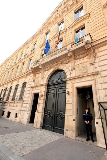 Stock Photo: 1566-732142 Bank of France