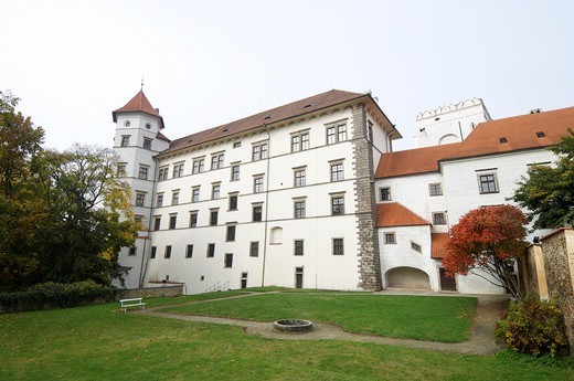 Stock Photo: 1566-732465 Jindrichuv Hradec castle, the thirteenth century, southern Bohemia, Czech Republic