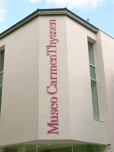 Carmen Thyssen Museum Malaga : Stock Photo