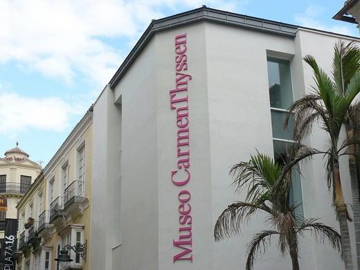 Stock Photo: 1566-735475 Carmen Thyssen Museum Malaga