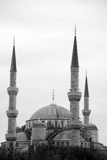 Stock Photo: 1566-736529 The Blue Mosque in Istanbul