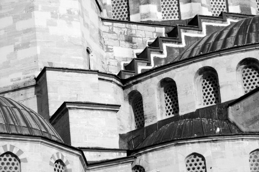 Stock Photo: 1566-736799 Detail of the Hagia Sophia in Istanbul