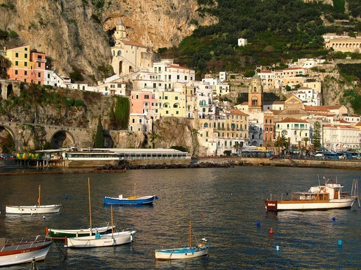 Stock Photo: 1566-737747 Amalfi, Campania, Italy
