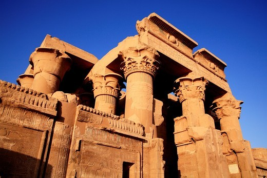 Temple of Kom Ombo Egypt : Stock Photo