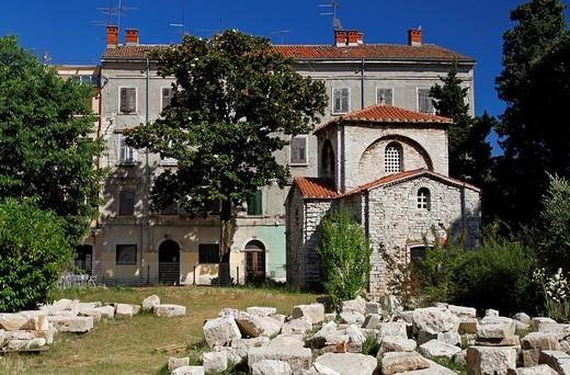 Chapel of St Mary of Formosa, Pula, Croatia : Stock Photo