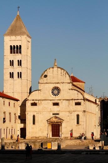 Stock Photo: 1566-739901 Church and Monastery of St Mary, Zadar, Croatia