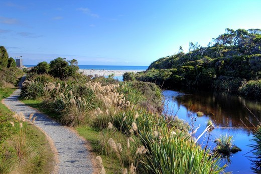 Waita River, Westcoast, South Island, New Zealand : Stock Photo