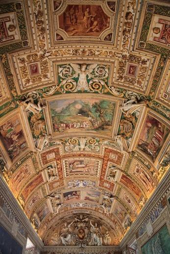 Stock Photo: 1566-743077 Vatican museum Rome Italy.