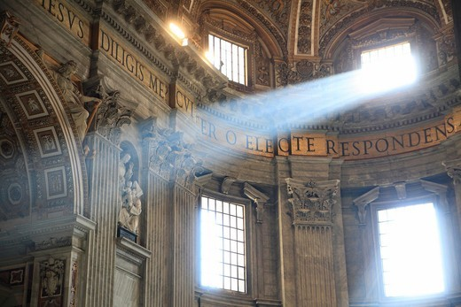 St. Peter´s Basilica, Rome, Italy. : Stock Photo