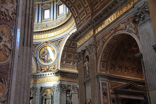 Stock Photo: 1566-743082 St. Peter´s Basilica, Rome, Italy.