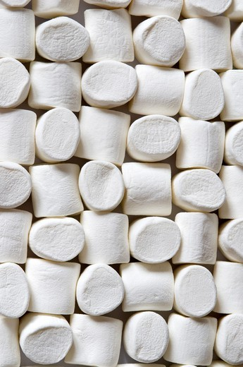 white marshmallows : Stock Photo