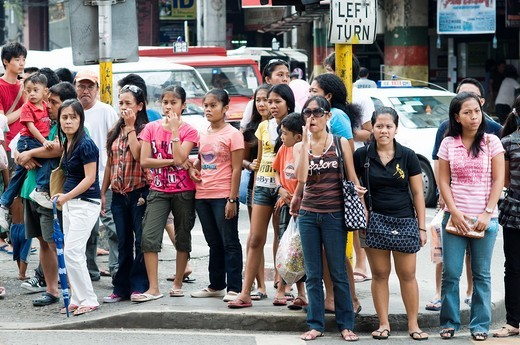 Stock Photo: 1566-743354 colon street scene, cebu city, philippines