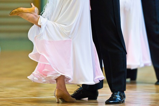 A couple at ballroom dancing, Germany, Europe : Stock Photo