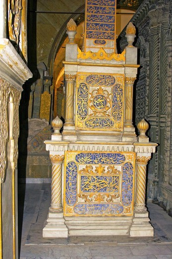 Stock Photo: 1566-745320 Tombs of Mohamed Ali Pasha family, city of deads , Cairo, Egypt