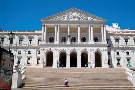Stock Photo: 1566-746193 Sao Bento Palace, Lisbon, Portugal