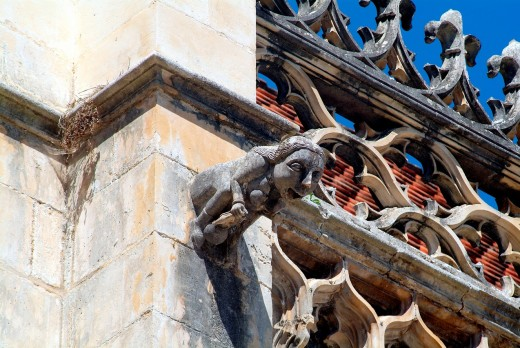 Stock Photo: 1566-746319 Santa Maria da Vitória, Monastery of Batalha, Portugal, Europe