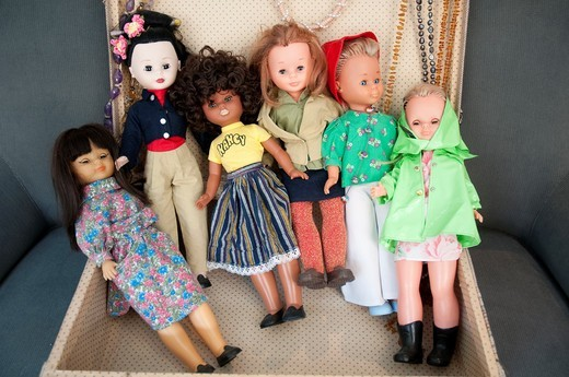 Stock Photo: 1566-746979 Nancy dolls
