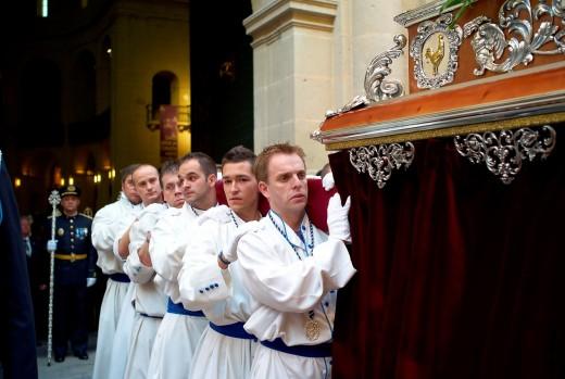 Stock Photo: 1566-747643 -Holy Week in Alicante- Valencian Comunity, Spain.