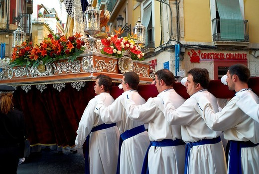 Stock Photo: 1566-747648 -Holy Week in Alicante- Valencian Comunity in Spain.