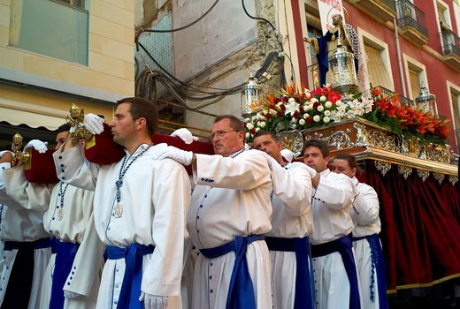Stock Photo: 1566-747652 -Holy Week in Alicante- Valencian Comunity in Spain.